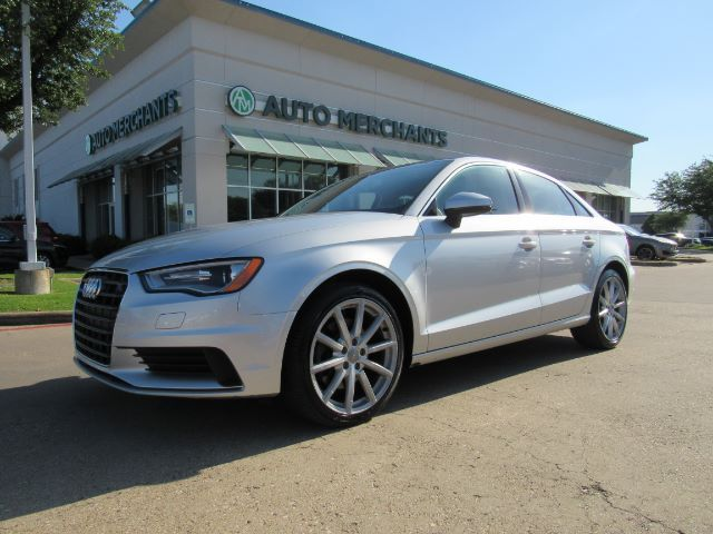 2015 Audi A3 *Premium Plus Package*, LEATHER, SUNROOF, NAVIGATION, HTD FRONT SEATS, KEYLESS START, BLUETOOTH Plano TX