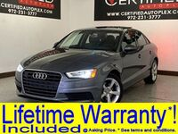 Audi A3 S TRONIC NAVIGATION PLUS PKG COLD WEATHER PKG SUNROOF LEATHER HEATED SEATS 2015
