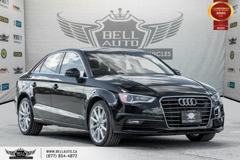 2015 Audi A3 TDI Progressiv, DIESEL, NO ACCIDENT, NAVI, SUNROOF Toronto ON