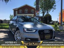 2015_Audi_A4_$102Wk-S-Line-Quattro-BrandNewEngine-SunRoof-HeatdLeathrSeat_ London ON