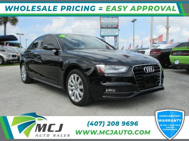 2015 Audi A4 2.0 T Sedan FrontTrak Multitronic