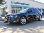 2015 Audi A4 2.0 T Sedan FrontTrak Multitronic*SUNROOF,BLUETOOTH CONNECTION,HEATED FRONT SEATS,REAR A/C,AUX INPUT
