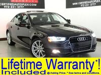 Audi A4 2.0T PREMIUM PLUS BLIND SPOT MONITOR TECHNOLOGY PKG MMI NAVIGATION PLUS 2015