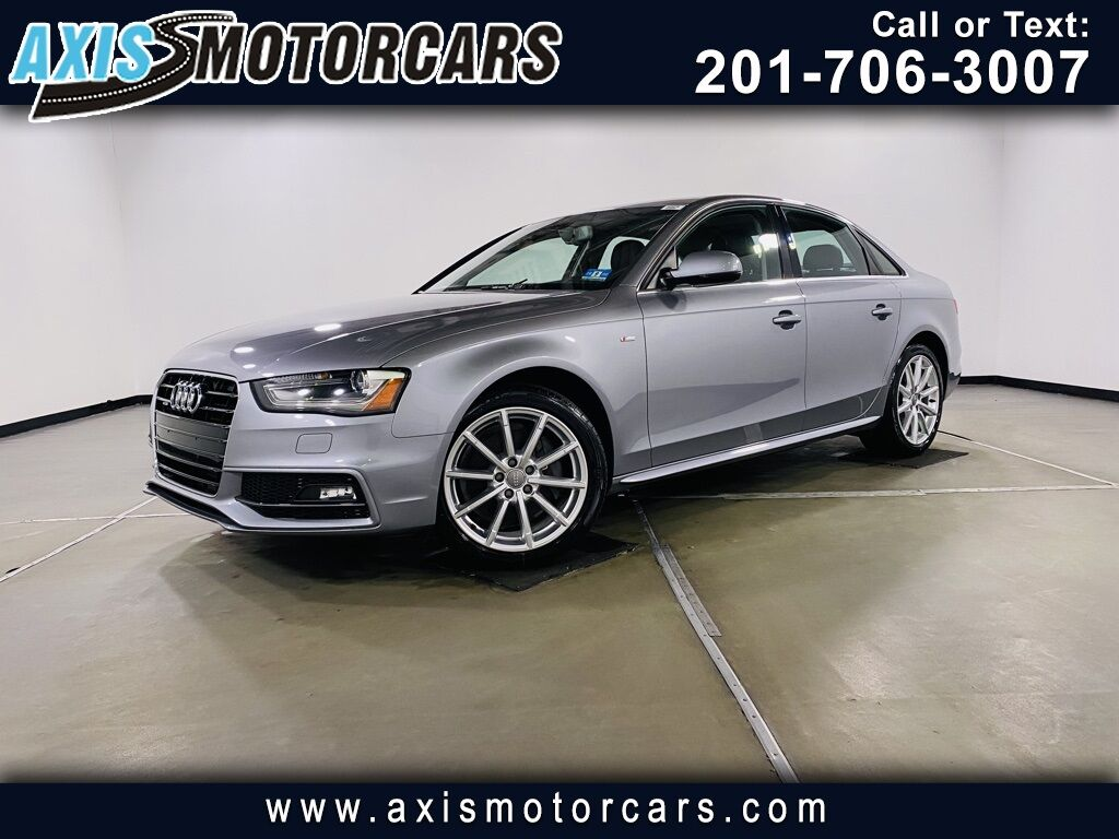 2015 Audi A4 2.0T Premium Plus Jersey City NJ