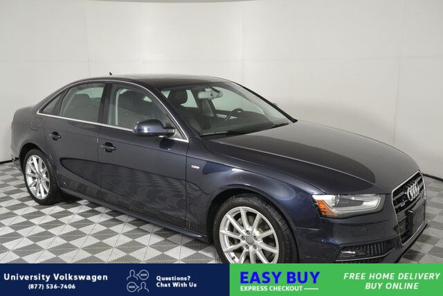 2015 Audi A4 2.0T Premium Plus Seattle WA