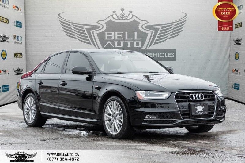 2015 Audi A4 Komfort plus, AWD, NO ACCIDENT, SUNROOF, LEATHER, BLUETOOTH