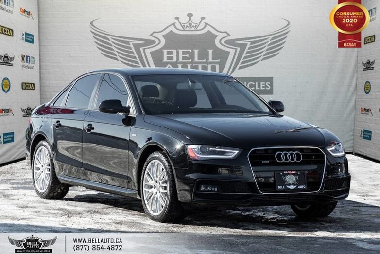 2015 Audi A4 Komfort plus,S-LINE, SUNROOF, HEATED SEATS, LEATHER, BLUETOOTH Toronto ON
