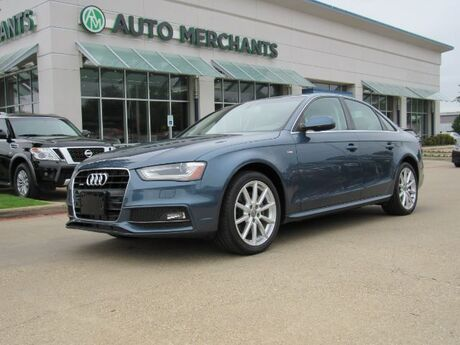 2015 Audi A4 PREMIUM PLUS *Premium Plus Package , Technology Package* LEATHER, NAVIGATION, SUNROOF, BACKUP CAMERA Plano TX