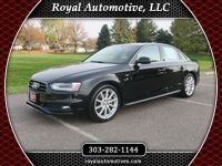 Audi A4 Premium Plus W/ S-Line Package 2015