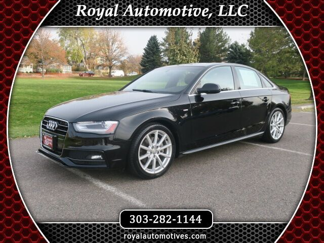 2015 Audi A4 Premium Plus W/ S-Line Package Englewood CO
