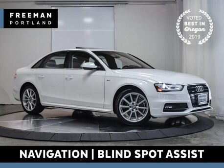 2015_Audi_A4_Premium Plus quattro Nav Blind Spot Asst Htd Seats_ Portland OR