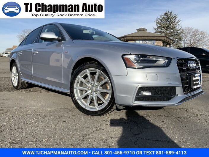 2015 Audi A4 Premium Salt Lake City UT