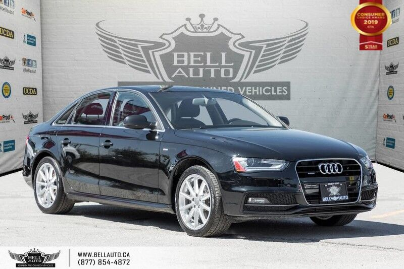 2015 Audi A4 Progressiv plus, AWD, S-LINE, NO ACCIDENT, NAVI, BACK-UP CAM