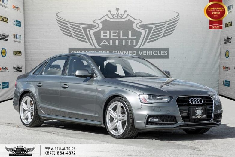 2015 Audi A4 Technik plus, S-LINE, AWD, NO ACCIDENT, NAVI, BACK-UP CAM Toronto ON
