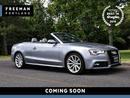 2015_Audi_A5_Cabriolet Premium Plus Vented Seats 23k Miles_ Portland OR