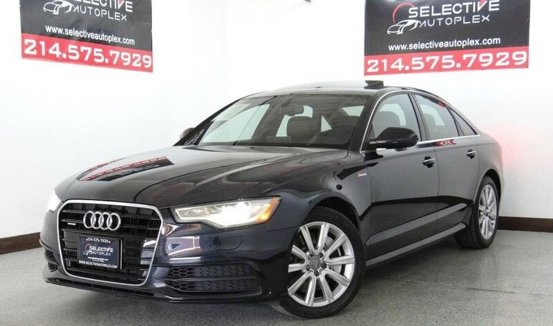 2015 Audi A6 3.0T Premium Plus AWD, NAV, COLD WEATHER PKG, BOSE Carrollton TX
