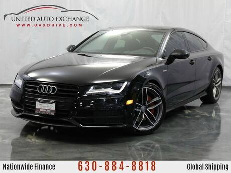 2015 Audi A7 3.0L V6 Supercharged Engine AWD Prestige w/ Navigation, Bluetooth Connectivity, Heated Leather Seats, Front and Rear Parking Aid with Rear View Camera Addison IL
