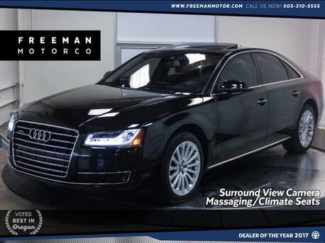 2015_Audi_A8_3.0T Quattro Surround View Cam Blind Spot Assist_ Portland OR