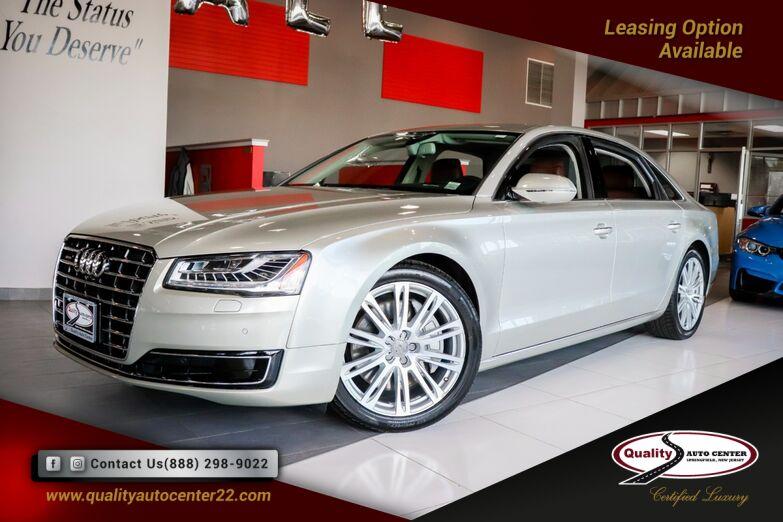 2015 Audi A8 L 3.0T Premium Pkg, Head-Up Display, Massage Seats, Blind Spot Springfield NJ
