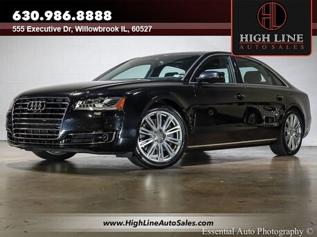 2015_Audi_A8 L_3.0T_ Willowbrook IL