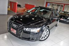 2015 Audi A8 L 4.0T Premium Package Drivers Assist 20 inch Wheels Panoramic Cold Weather Package Navigation