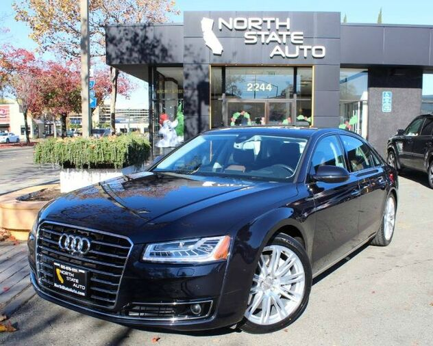 2015_Audi_A8 L_4.0T_ Walnut Creek CA