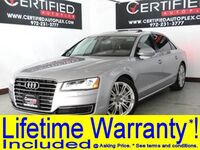 Audi A8 L L QUATTRO PREMIUM PKG LUXURY PKG BLIND SPOT ASSIST NAVIGATION SUNROOF HEADS 2015