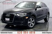 2015 Audi Q3 2.0L Engine AWD Quattro w/ Navigation, Bluetooth Connectivity, Heated Leather Seats, Panoramic Sunroof, Lip Spoiler, Push Start Button