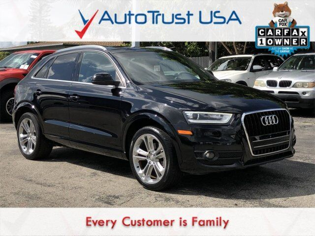 2015 Audi Q3 2.0T Prestige 1 OWNER NAV PANO ROOF BACKUP CAM BOSE AUDIO Miami FL