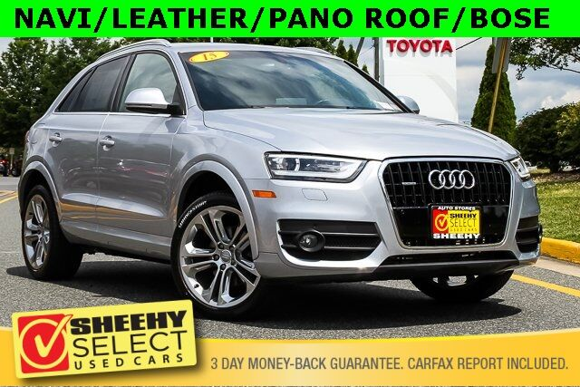 2015 Audi Q3 2.0T Prestige  quattro NAVI LEATHER PANORAMIC SUNROOF BOSE Stafford VA