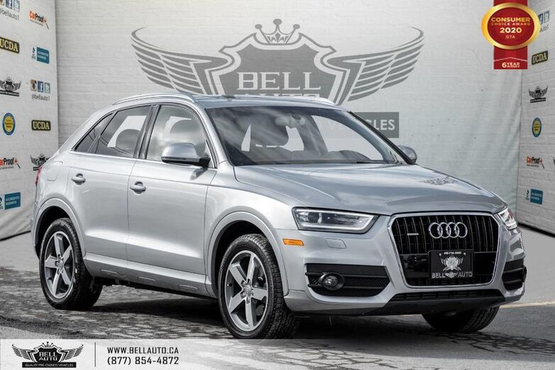 2015 Audi Q3 Progressiv, AWD, NAVI, PANO ROOF, LEATHER, BLUETOOTH Toronto ON