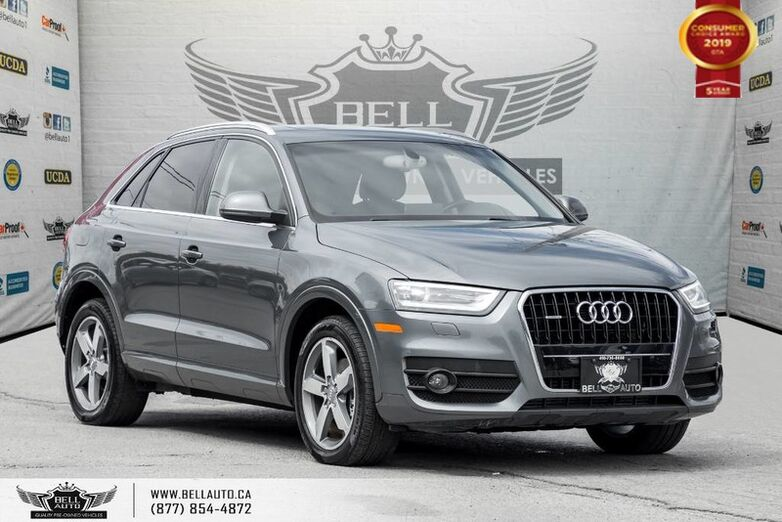 2015 Audi Q3 Progressiv, AWD, NO ACCIDENT, PANO ROOF, KEY-LESS ENTRY Toronto ON