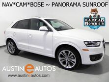 Audi Q3 Quattro 2.0T Prestige *NAVIGATION, SIDE ASSIST, BACKUP-CAMERA, PANORAMA SUNROOF, LEATHER, HEATED SEATS, BOSE AUDIO 2015