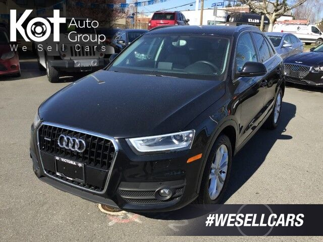 2015 Audi Q3 TECHNIK! TURBO! AWD! LEATHER! PANORAMIC SUNROOF! Victoria BC