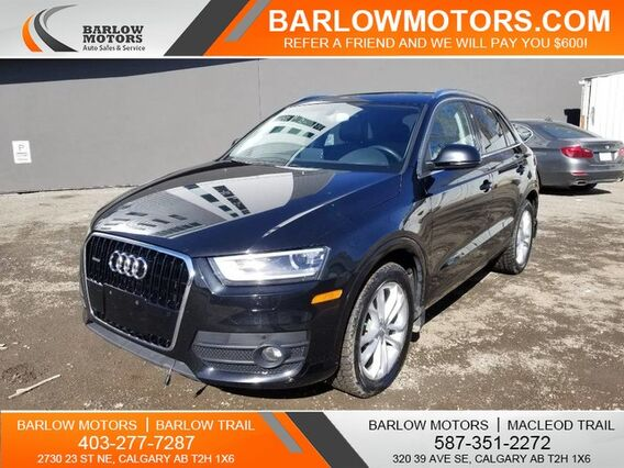 2015_Audi_Q3_Technik Excellent Condition One Owner_ Calgary AB
