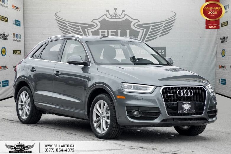 2015 Audi Q3 Technik, NO ACCIDENT, NAVI, BACK-UP CAM, SENSORS, PANO ROOF Toronto ON