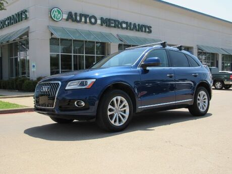 2015 Audi Q5 2.0T Premium Plus quattro NAV, BLIND SPOT, PANORAMIC, HTD STS, BLUETOOTH, PUSH BUTTON, PWRLIFT Plano TX