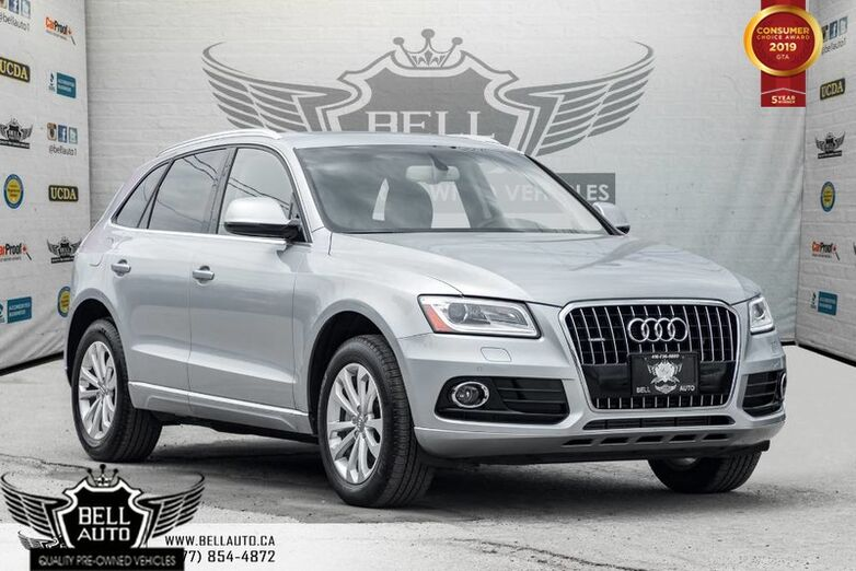 2015 Audi Q5 2.0T Technik, NAVI, BAK-UP CAM, PANO ROOF, SENSORS, PUSH START Toronto ON