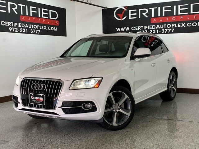 2017 Audi Q5 3 0t Premium Plus S Line Quattro Panoramic Roof Heated Leather Seats