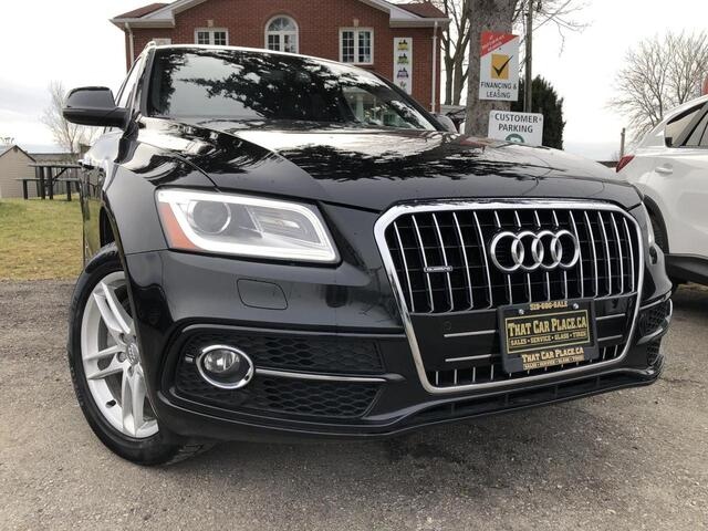 2015 Audi Q5 3.0T Premium-$112wk-Navi-HeatedLeatherSts-BackupCam-PowerTrunk-Bluetooth London ON