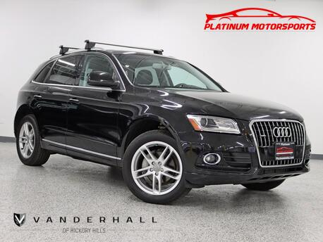 2015_Audi_Q5 Premium Plus_1 Owner Tech Pkg Pano Leather Roof Racks Carfax Certified Loaded_ Hickory Hills IL