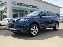 2015_Audi_Q7_3.0 Premium quattro AUTOMATIC, AWD, LEATHER SEATS, DUAL SUNROOF, NAVIGATION, COOLED FRONT SEATS_ Plano TX