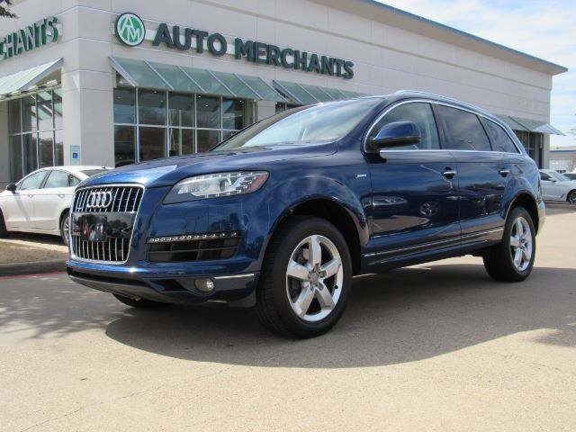 2015 Audi Q7 3.0 Premium quattro AUTOMATIC, AWD, LEATHER SEATS, DUAL SUNROOF, NAVIGATION, COOLED FRONT SEATS Plano TX