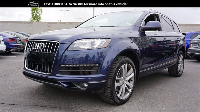 2015 Audi Q7 3.0 TDI Premium Plus Albuquerque NM