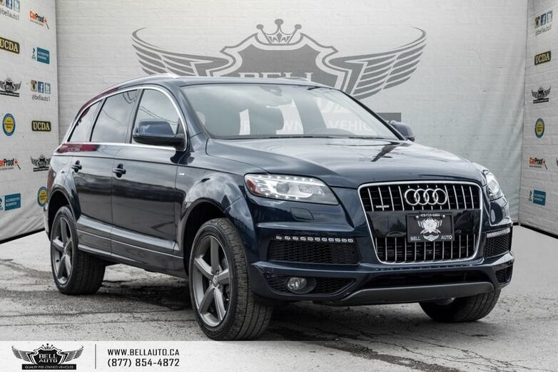 2015 Audi Q7 3.0L TDI Vorsprung Edition, S-LINE, NAVI, BLIND SPOT, BACK-UP CAM, PANO ROOF Toronto ON