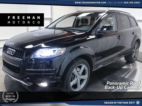 2015_Audi_Q7_3.0T Premium Plus Back-Up Cam Pano Roof_ Portland OR