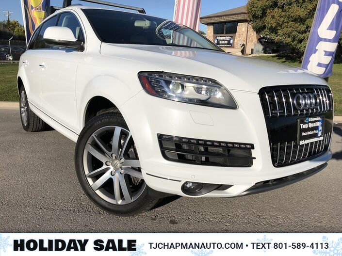 2015 Audi Q7 3.0T Premium Plus Salt Lake City UT