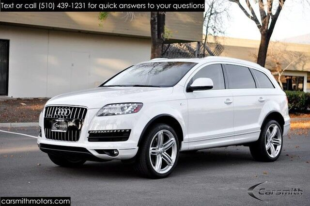 2015 Audi Q7 3.0T Premium Plus Warm and Cold Weather PKG 21 Wheels/One Owner/ Audi Side Assist Fremont CA