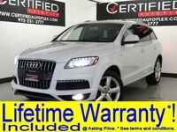 Audi Q7 3.0T QUATTRO SUPERCHARGED S LINE PRESTIGE BLIND SPOT MONITOR COLD WEATHER 2015