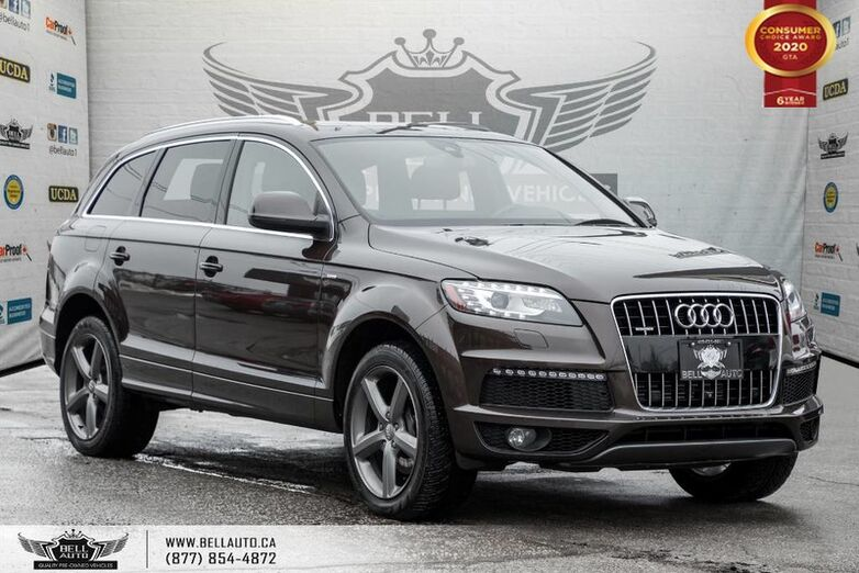 2015 Audi Q7 3.0T Vorsprung Edition, NO ACCIDENT, AWD, V6, 7 PASS, NAVI, REAR CAM Toronto ON